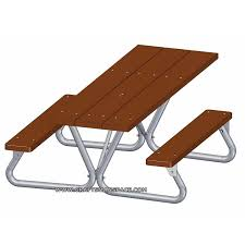 Plans For Outdoor Picnic Table by Picnic Table Plans