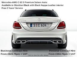 car leasing mercedes c class mercedes c class saloon free service offer amg car car