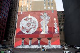 wabash arts corridor press new never 2501 mural unveiled july 6 in chicago as part of outdoor series from acclaimed street artists