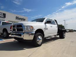 dodge ram 3500 flatbed 2016 dodge ram 3500 4x4 commercial flatbed truck white truck for