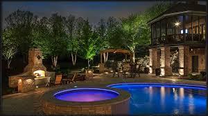 swimming pool outdoor landscape lights best outdoor landscape