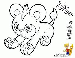 litleo pokemon coloring pages pokemon x and y coloring pages