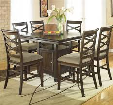 ashley furniture hayley contemporary 7 piece dining set with x
