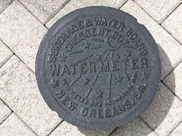 water meter new orleans new orleans original cast iron water meter box cover genuine 10