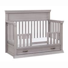 Grey Convertible Crib by Langford Crib Cropped7 Jpg
