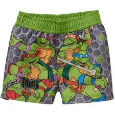 teenage mutant ninja turtles newborn baby boy swim trunks