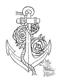anchor and roses by filmoart on deviantart