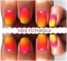 sponge galaxy nail art tutorial youtube gel ombre nail art no