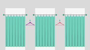 Fitting Room Curtains Fitting Room Stock Illustrations 445 Fitting Room Stock