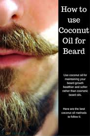 Tea Tree Oil Hair Loss How To Apply Coconut Oil To Your Beard