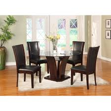 cheap glass dining room sets 5pc dining table