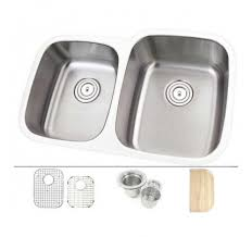 30 inch undermount double kitchen sink 30 inch stainless steel undermount double bowl 60 40 offset kitchen