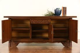 Credenza Tv Sold Tv Console Media Center Harp Gallery Antiques