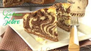amour de cuisine gateau gateau marbré zebra recette par amour de cuisine