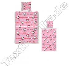 Hello Kitty Duvet Wholesale Hello Kitty Clothing And Products En Textiel Trade