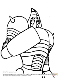 steel noisy boy coloring free printable coloring pages