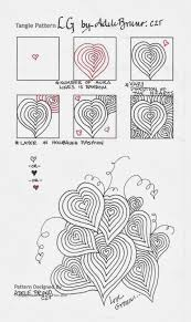 zentangle pattern trio lg when i completed the step out in my notebook pictured above i