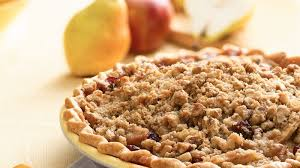 apple pear crumble apple pear and cranberry pie recipe bettycrocker com