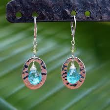 cozumel sterling silver apatite earrings breatheautumnrain