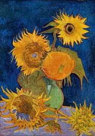 Vase Of Sunflowers Vincent Van Gogh The Paintings Still Life Vase With Five