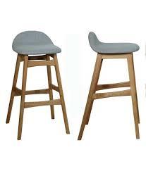 taburete madera comprar set 2 taburetes de madera color roble 51 x 47 x 88 cm