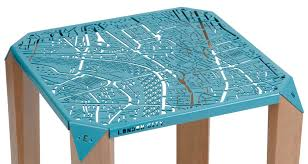 On Table by Map On Table Mapping London