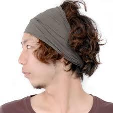 casualbox elastic bandana headband to get my short hair back for