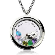 floating pendant necklace images Mother 39 s day gifts engraved floating charm locket quot for mom or jpg