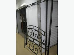iron canopy bed frame for double bed orleans ottawa