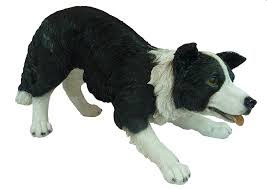 real medium sheepdog garden ornament sizef co uk