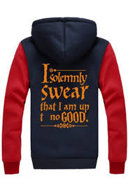 fashion color block letter pattern hooded long sleeve zip up warm
