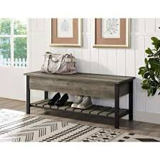 Dining Bench With Storage Walker Edison Furniture Company Kitchen U0026 Dining Room Furniture