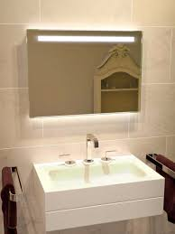 bathroom cabinets bathroom mirror with lights hib messina led