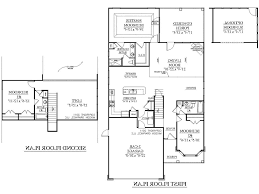 House Plan With Detached Garage Ideas For Semi D House S