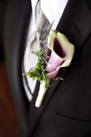 picasso calla the groom and ring bearer will boutonnieres featuring picasso