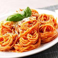 cuisine tomate recette spaghetti à la sauce tomate facile