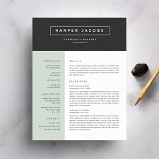 free resume template cover letter psd templates samples with