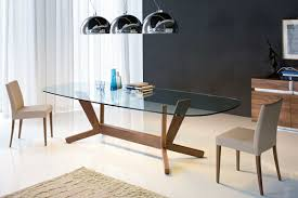 modern oval dining tables oval glassning room table with well designs in wood and home