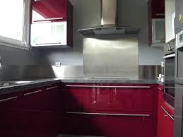 revetement mural inox pour cuisine plaque murale inox cuisine credence verre pour cuisine 10
