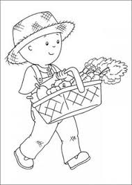 caillou coloring pages picture 13 550x770 picture
