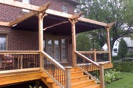 Retractable Pergola Awning by Side By Side Retractable Awnings Shadefx Canopies