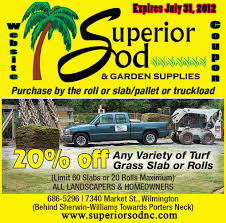 sodsuperior sod mulch and sod in wilmington