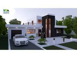 plan maison moderne 5 chambres plan maison moderne 5 chambres 11 contemporaine 161m2 pi ces 4