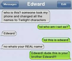 Funny Meme Names - funny text twilight names