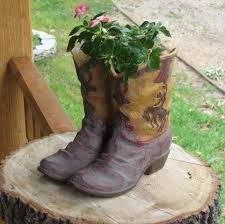 Cowboy Boot Planter by 7 Best Water Fountains Buckets Images On Pinterest Outdoor