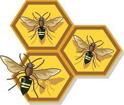 bee clipart honeybee retro honey bee clipart free clipartfest clipartbarn