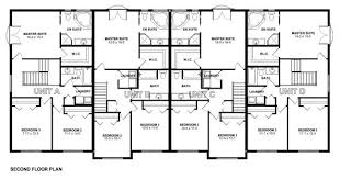 multi family house plans stylish multi family dwelling house plan hunters