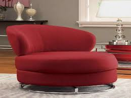 Swivel Chair Lounge Design Ideas Red Swivel Chair For Elegant Living Room Design With Wooden