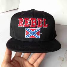 American Flag Flat Bill Hat 2018 Wholesale 3d Embroidered Rebel Flags Snapback Hats High