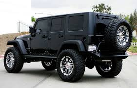 jeep wrangler jacked up matte black jeep wrangler unlimited my photo gallery
